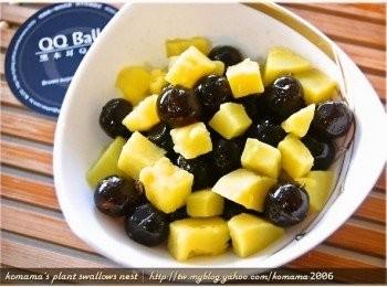 黑Q地瓜甜點
