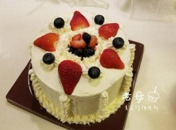 戚風忌廉蛋糕