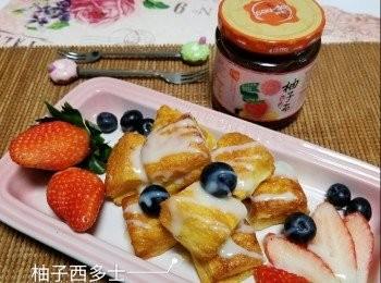 柚子西多士【高島柚子茶甜品食譜大招募】