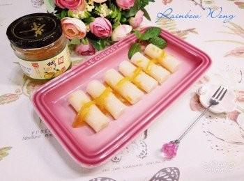 蜂蜜柚子甜腸粉 【高島柚子茶甜品食譜大招募】