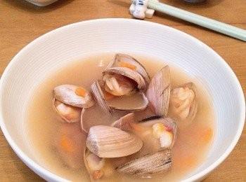 花甲麵豉湯
