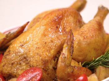 風味脆烤雞
