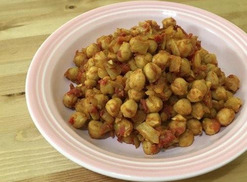 印度咖哩鷹嘴豆Chickpea Curry