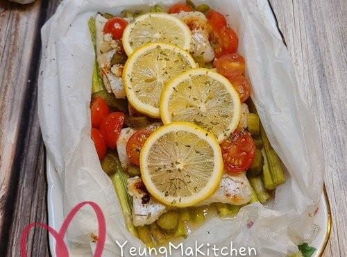 紙包焗鱈魚柳