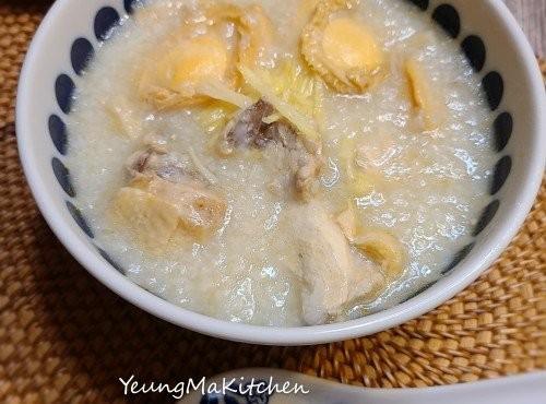 鮑魚瑤柱雞粥