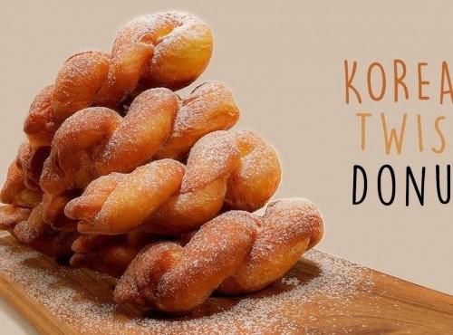 韓式麻花甜甜圈 | 簡易食譜