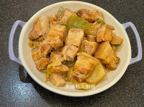 咸菜炆豬腩肉