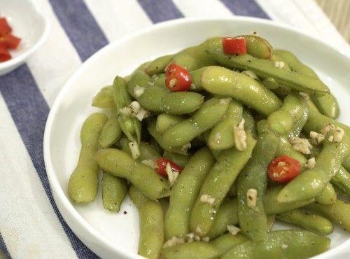 [今晚食乜餸] 涼拌毛豆