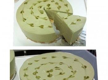 綠茶豆腐mousse cake【盛夏甜品大作戰】