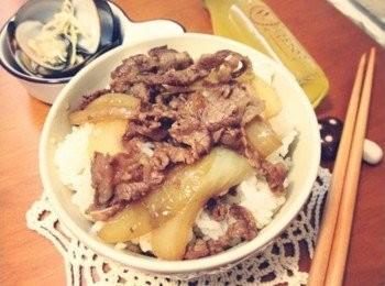 日本風味~~好有飽足感!! - 牛丼飯