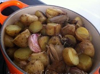 烤香脆馬鈴薯