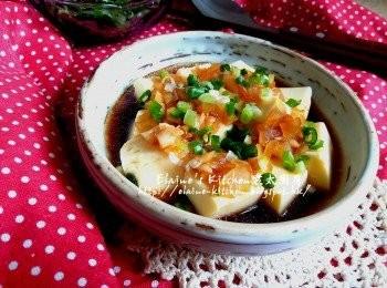 涼拌雞蛋豆腐