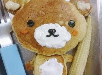 香蕉優格鬆餅(酵母版)