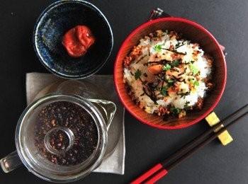 日式三文魚茶漬飯