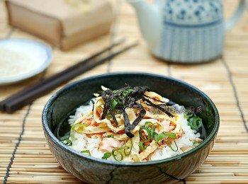 【鮭魚茶泡飯】夕食米糧