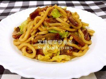 叉燒椰菜炒烏冬