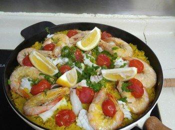 西班牙海鲜飯