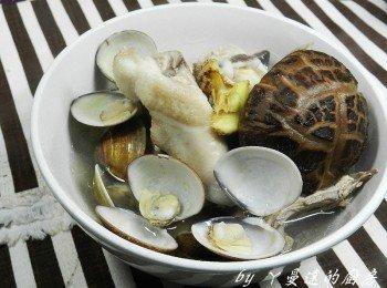 ㄚ曼達的廚房~蛤蜊雞湯