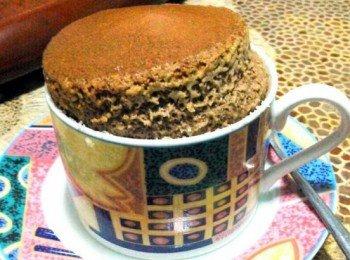 巧克力舒芙蕾 chocolate souffle