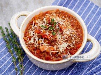 《經典番茄肉醬》