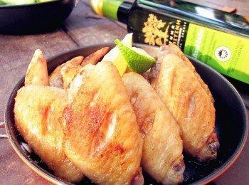 香煎鹽味雞翅(還有烤箱作法)