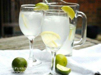自製薑汁檸檬水