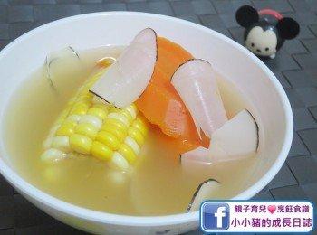 【預防皮膚乾燥】海底椰紅蘿蔔粟米瘦肉湯