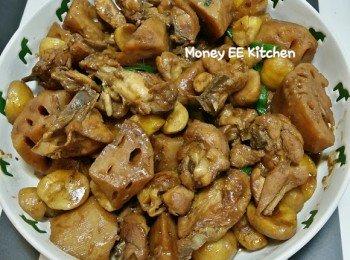 蓮藕粟子炆雞 (玫瑰鍋煮意)