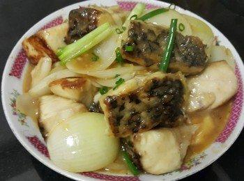 泰式雞醬燜敏魚(鮸仔魚/米魚)